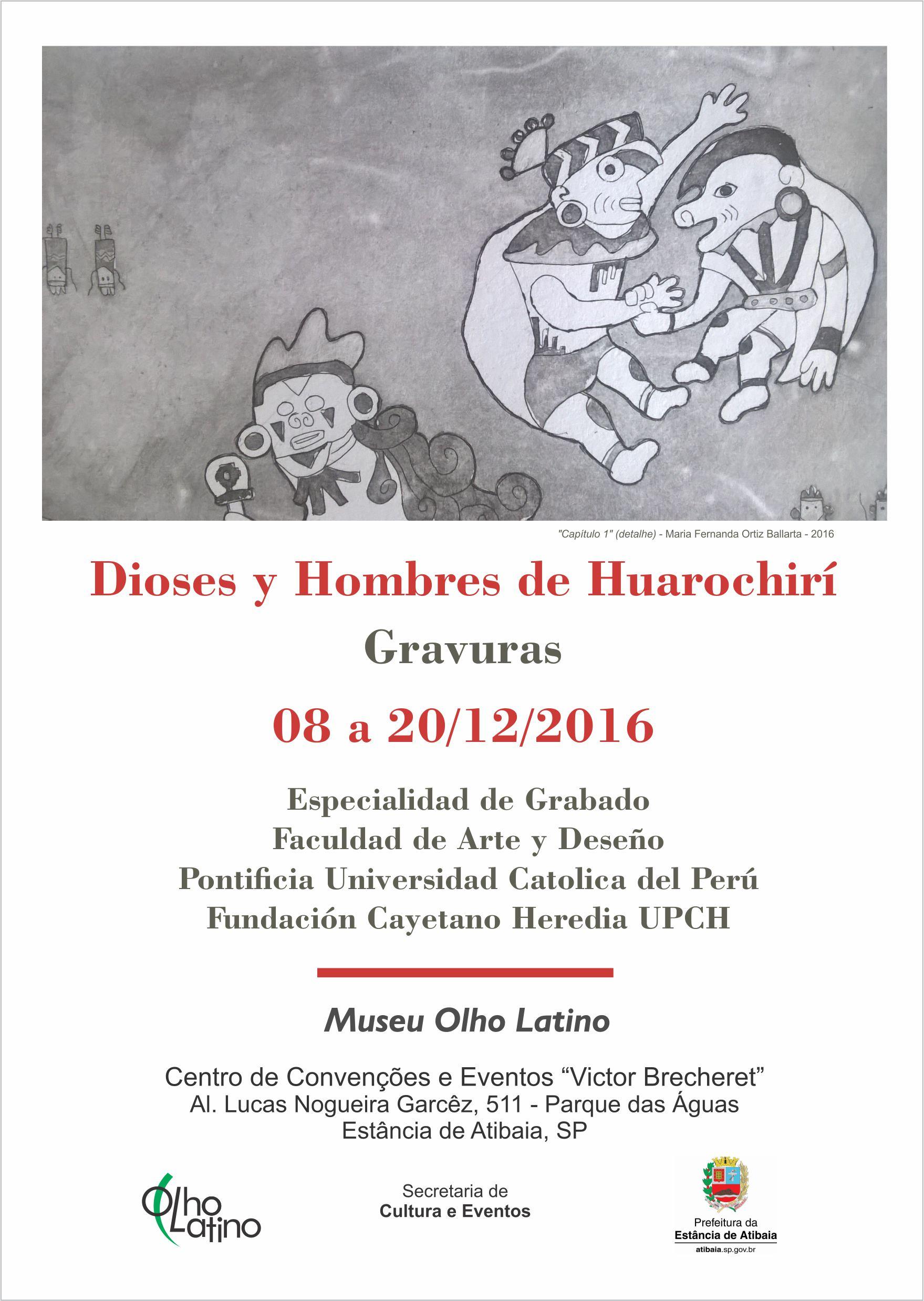 Convite Expo Dioses PeruA5 museu olho latino