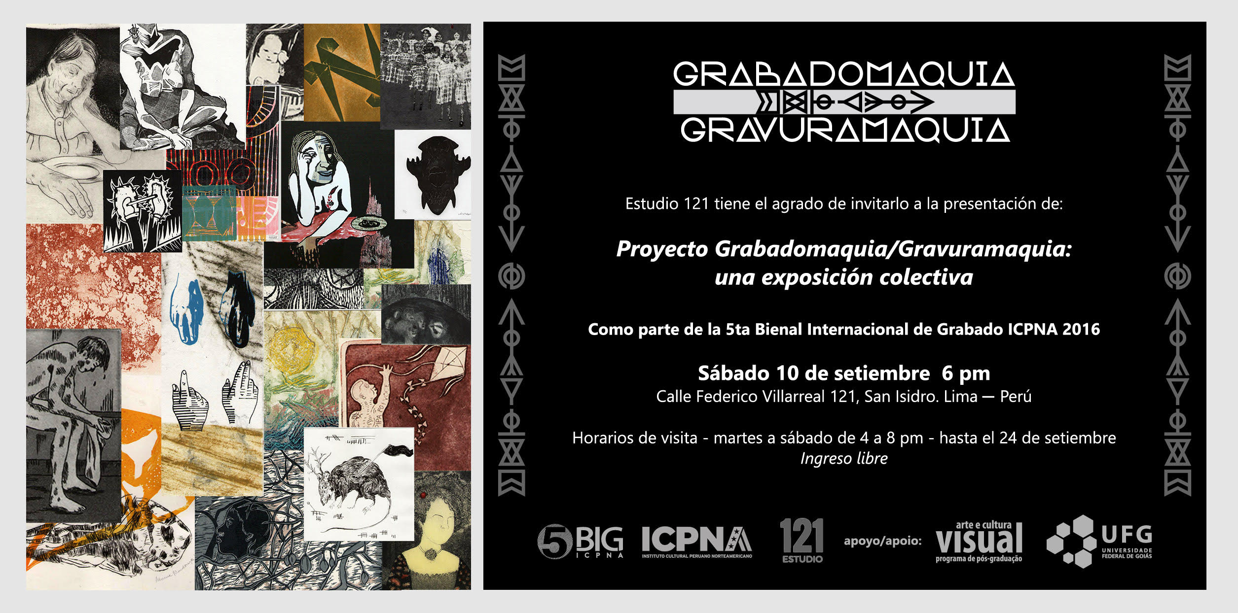 Convite Grabadomaquia