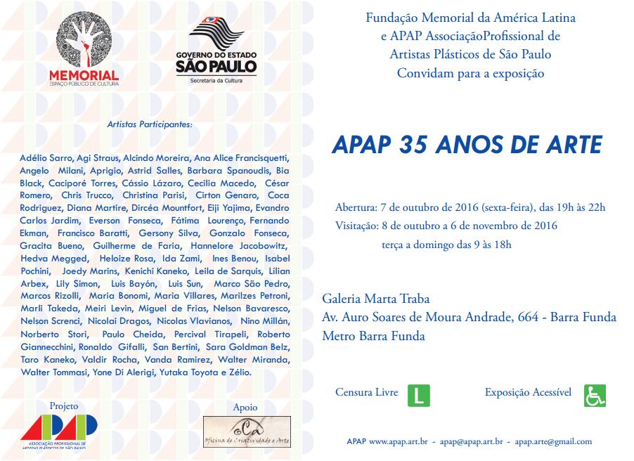 convite memorial da america latina