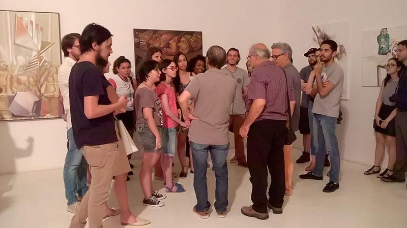 Paulo Cheida Kaneko Alcindo Moreira Filho e alunos de Artes